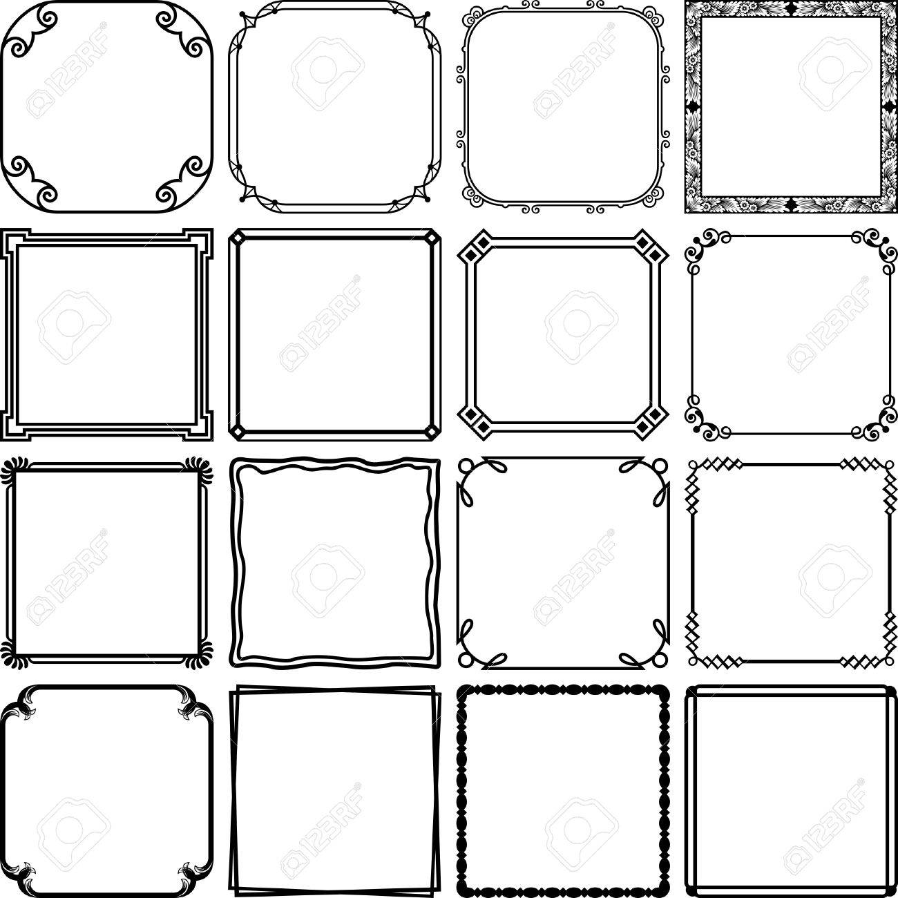 Simple Frames Royalty Free Cliparts, Vectors, And Stock Illustration ...