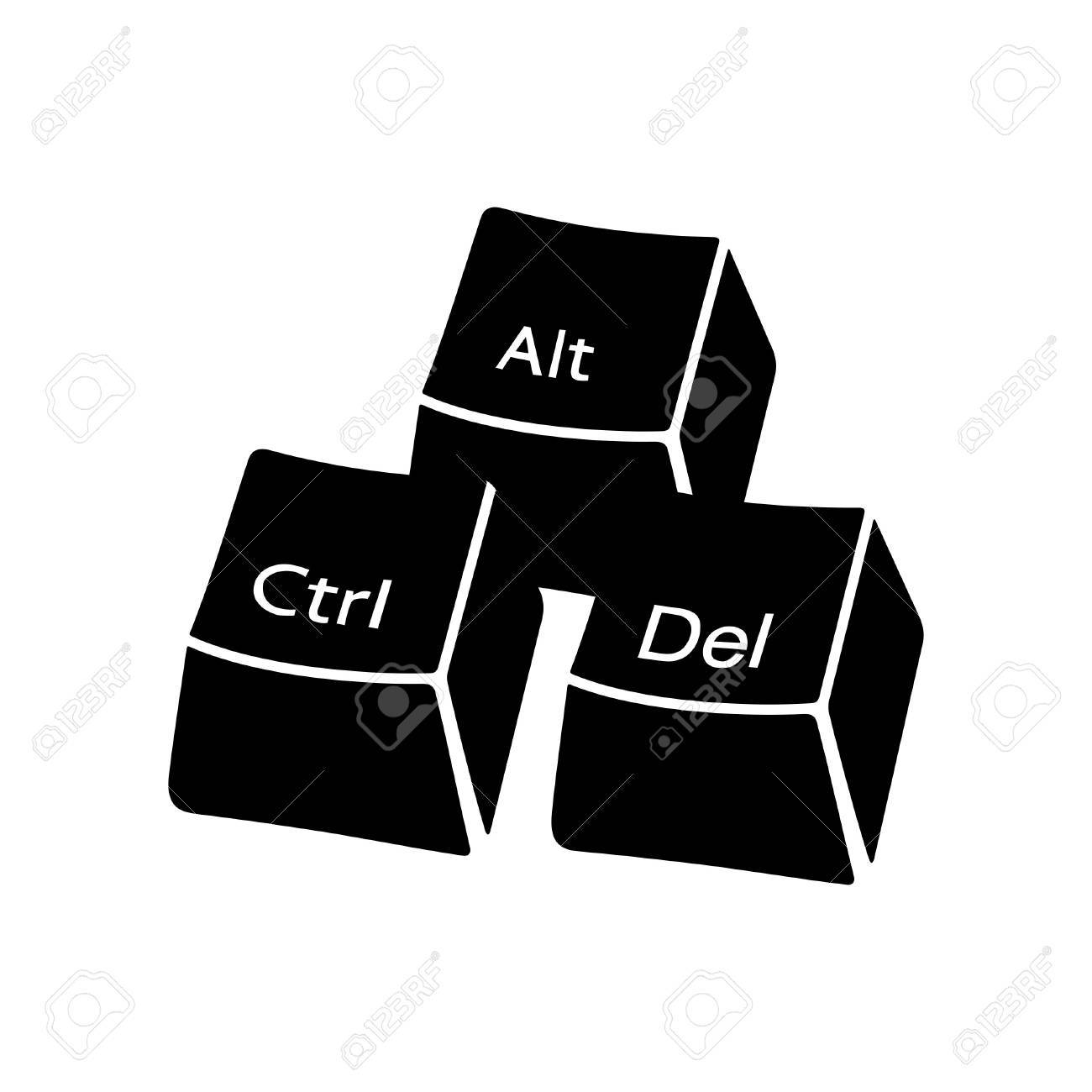 Ctrl alt del buttons royalty free cliparts vectors and stock ctrl alt del buttons stock vector 71247829 biocorpaavc Choice Image