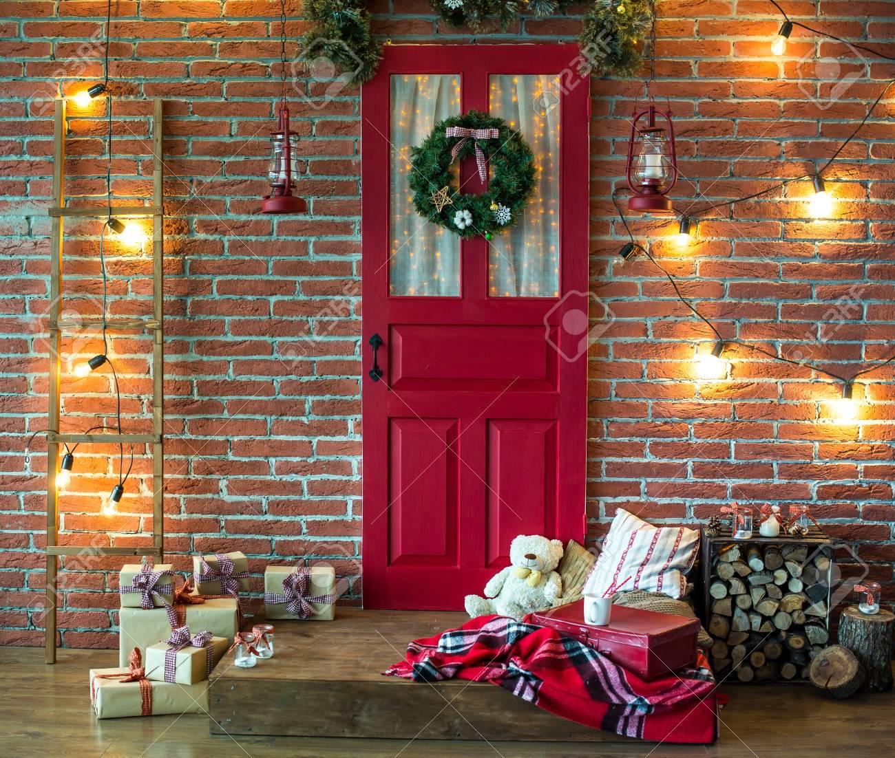 Banque d\u0027images , Chambre Sapin de Noël, Décoration d\u0027intérieur de Noël,  Jouets, Décorations de Noël, Décorations de Noël, Zone photo
