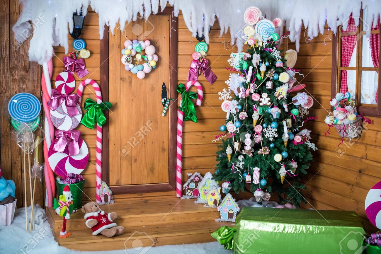 Room Christmas Tree Xmas Home Interior Decoration Toys Decorations