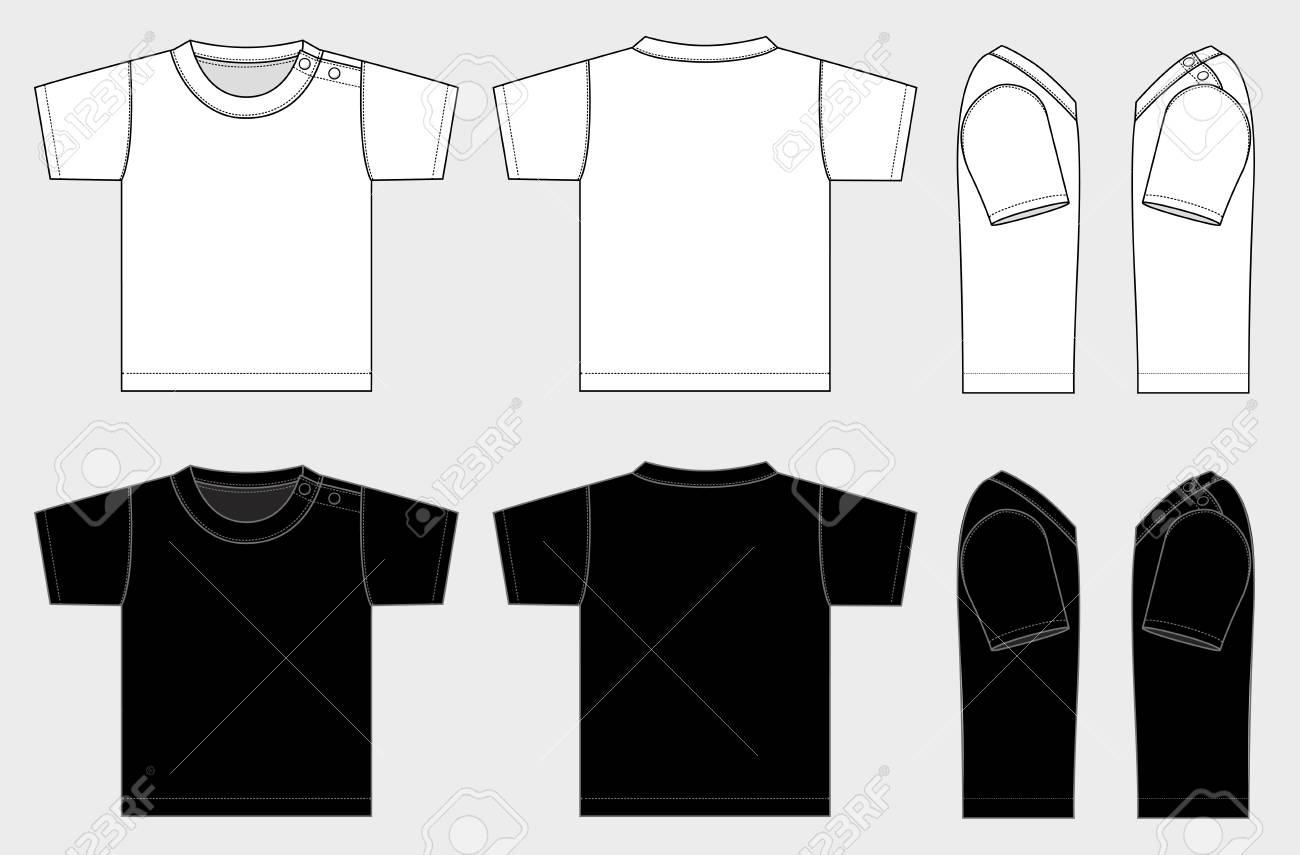 子供の T シャツ イラスト ベクトルのイラスト素材ベクタ Image