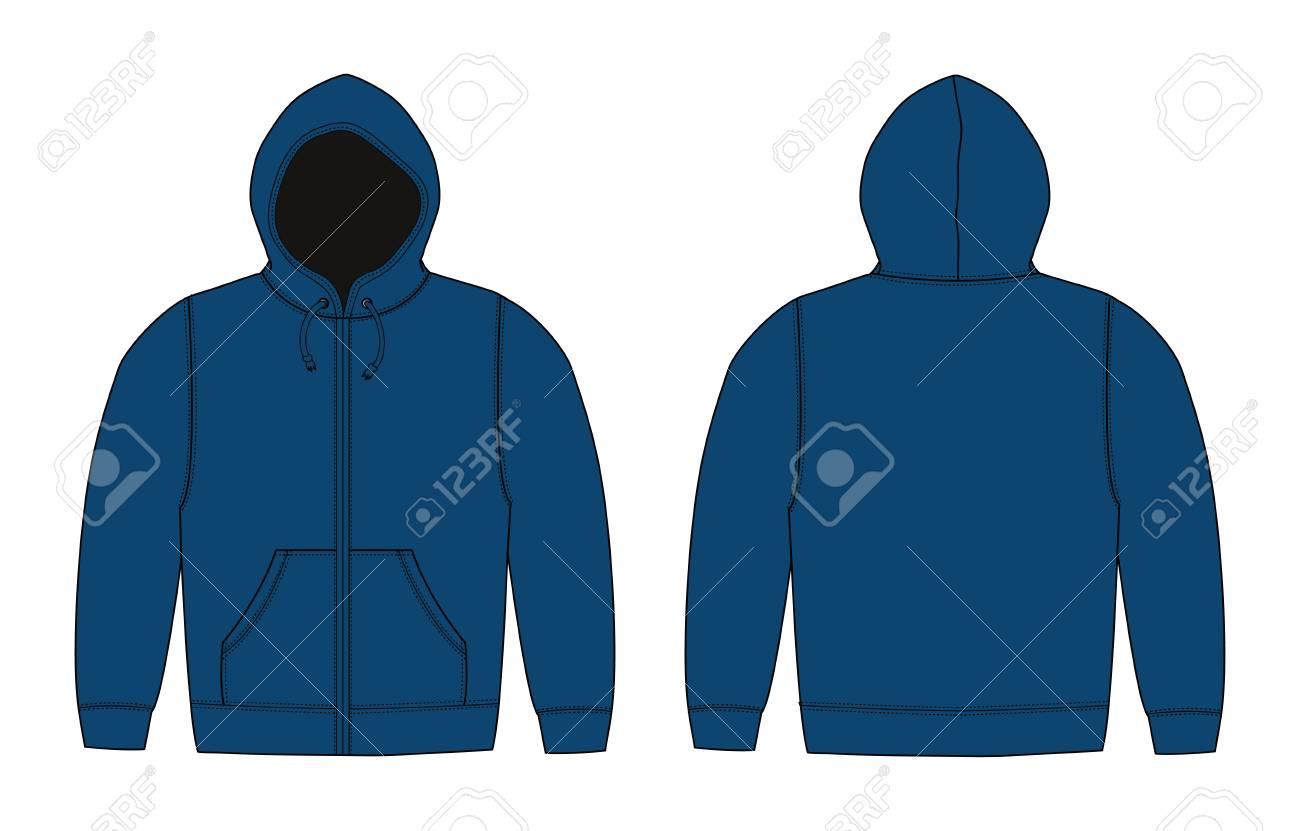 Illustration Of Hoodie (hooded Sweatshirt) 1525b0341d0