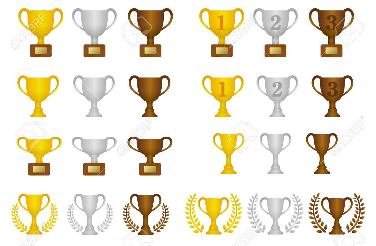 Trophy cups icon. - 91754433
