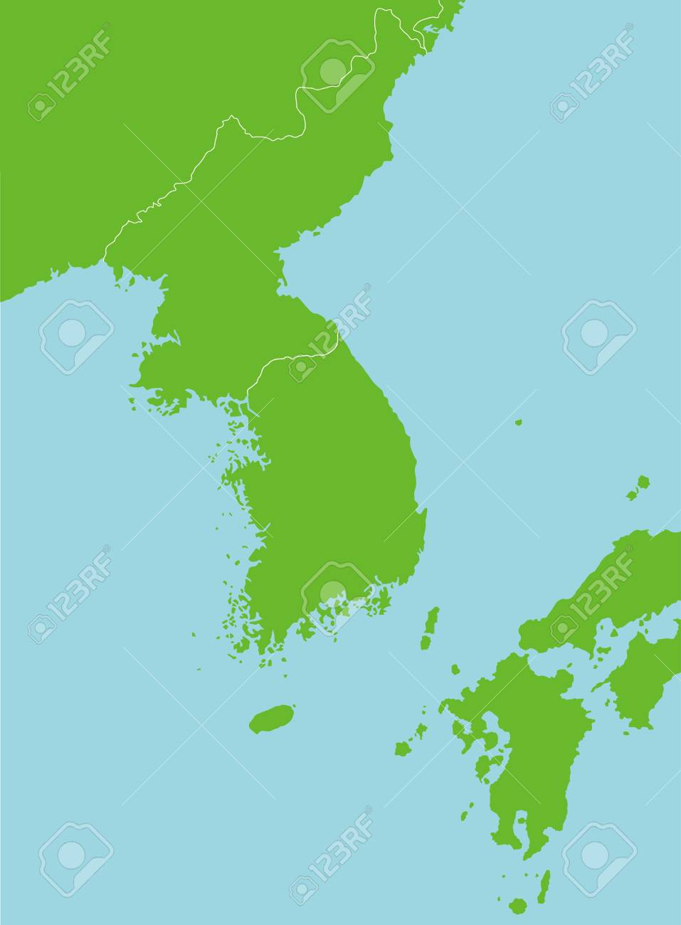 Korean peninsula and far east countries map blank map / no text on caspian sea map, mongolia map, germany map, himalayan mountains map, japan map, taiwan map, huang he river map, korean war 38th parallel korea map, sichuan basin map, gobi desert map, indus river map, ganges river map, yellow sea map, vietnam map, indonesia map, china map, indian ocean map, 38th parallel north map, outer rim map, plateau of tibet map,