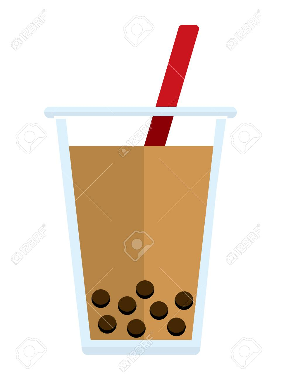 bubble tea tapioca milk tea vector illustration royalty free cliparts vectors and stock illustration image 125320906 bubble tea tapioca milk tea vector illustration