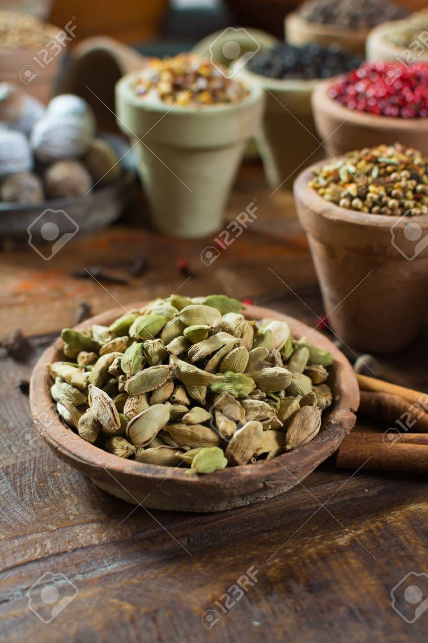 Most Expensive Spice In The World Dried Green Cardamom Pods