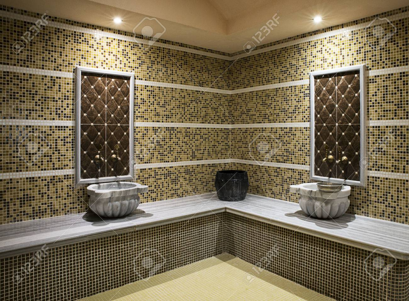 Detail Of A Traditional Turkish Bath Stock Photo   72014893