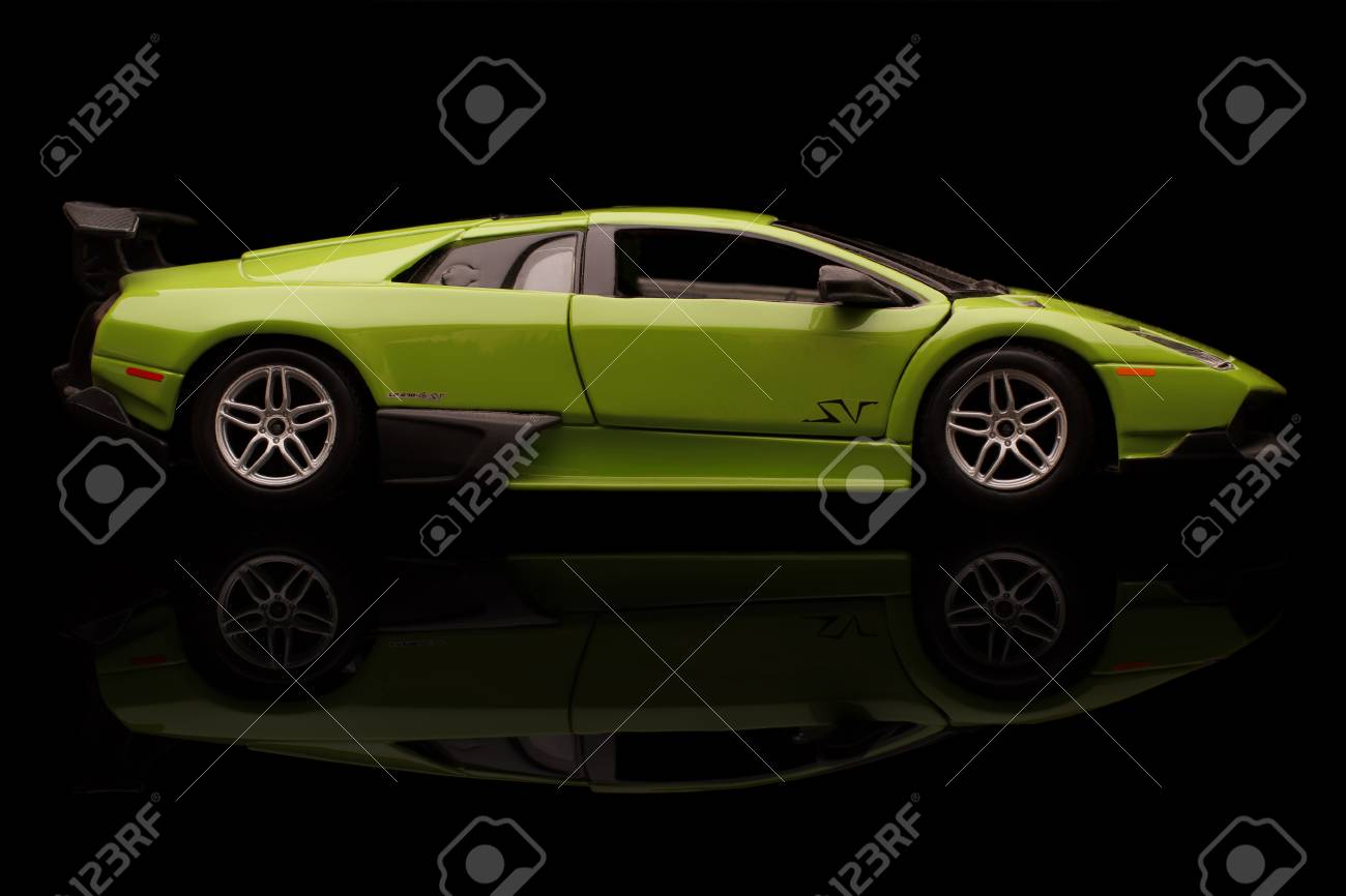 Krivoy Rog Ukraine Jan 04 Toy Lamborghini Murcielago On Stock
