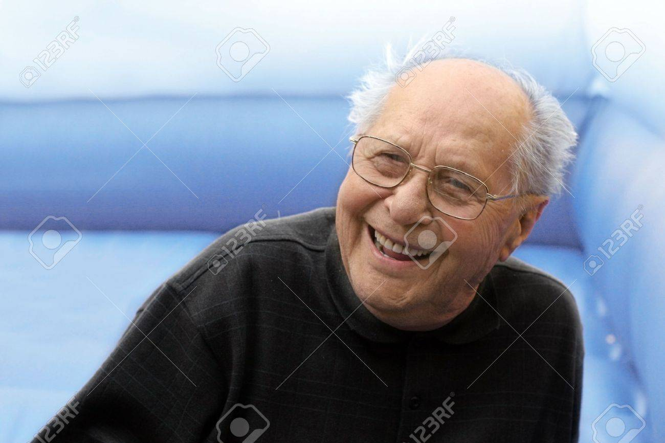 Laughing old man Stock Photo - 369581