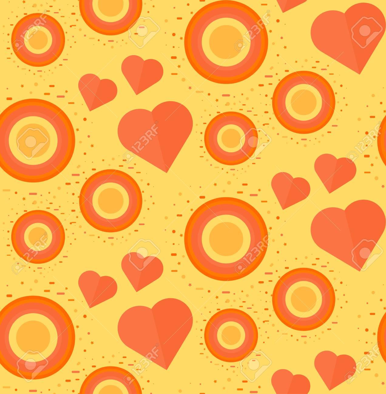 Jahrgang Nahtlose Romantische Muster Für Wrap, Print, Stoff ...