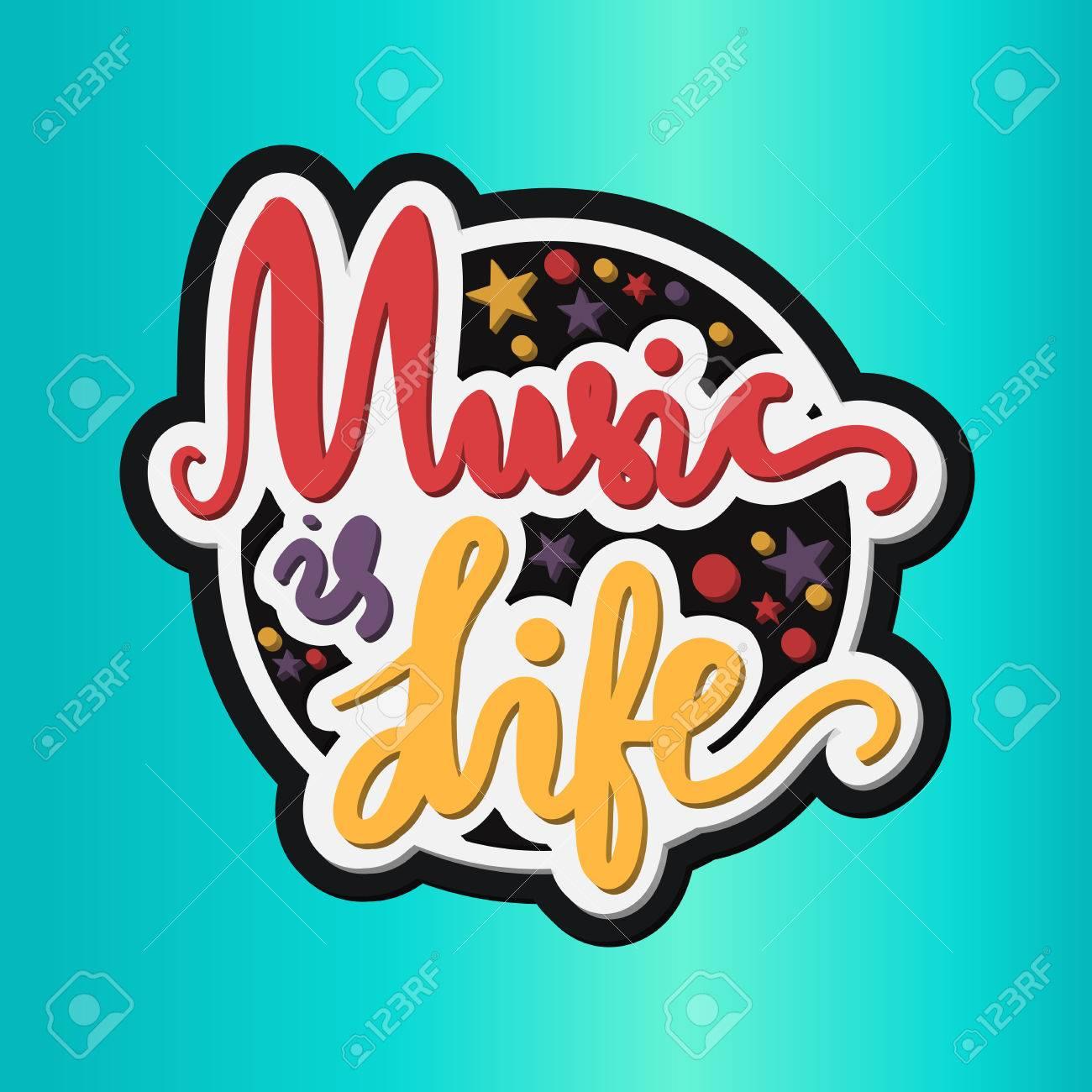 Vintage Welt Music Day-Beschriftung Für Banner Und Abzeichen ...