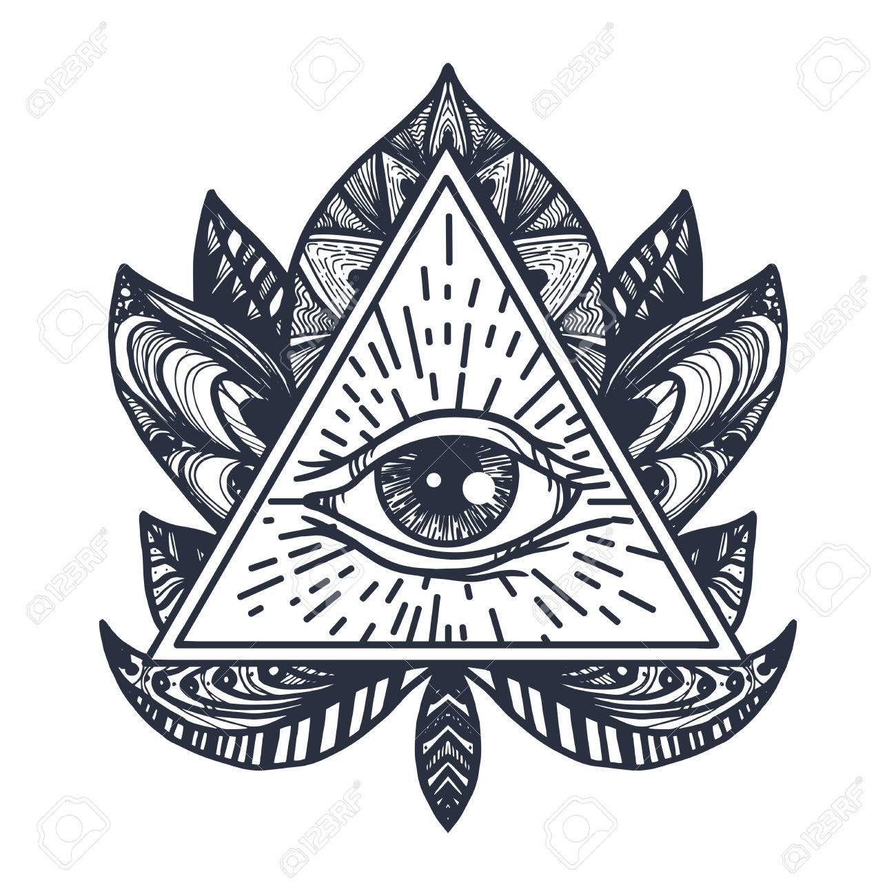 Pentagram stock photos royalty free business images providence magic symbol for print tattoo coloring buycottarizona