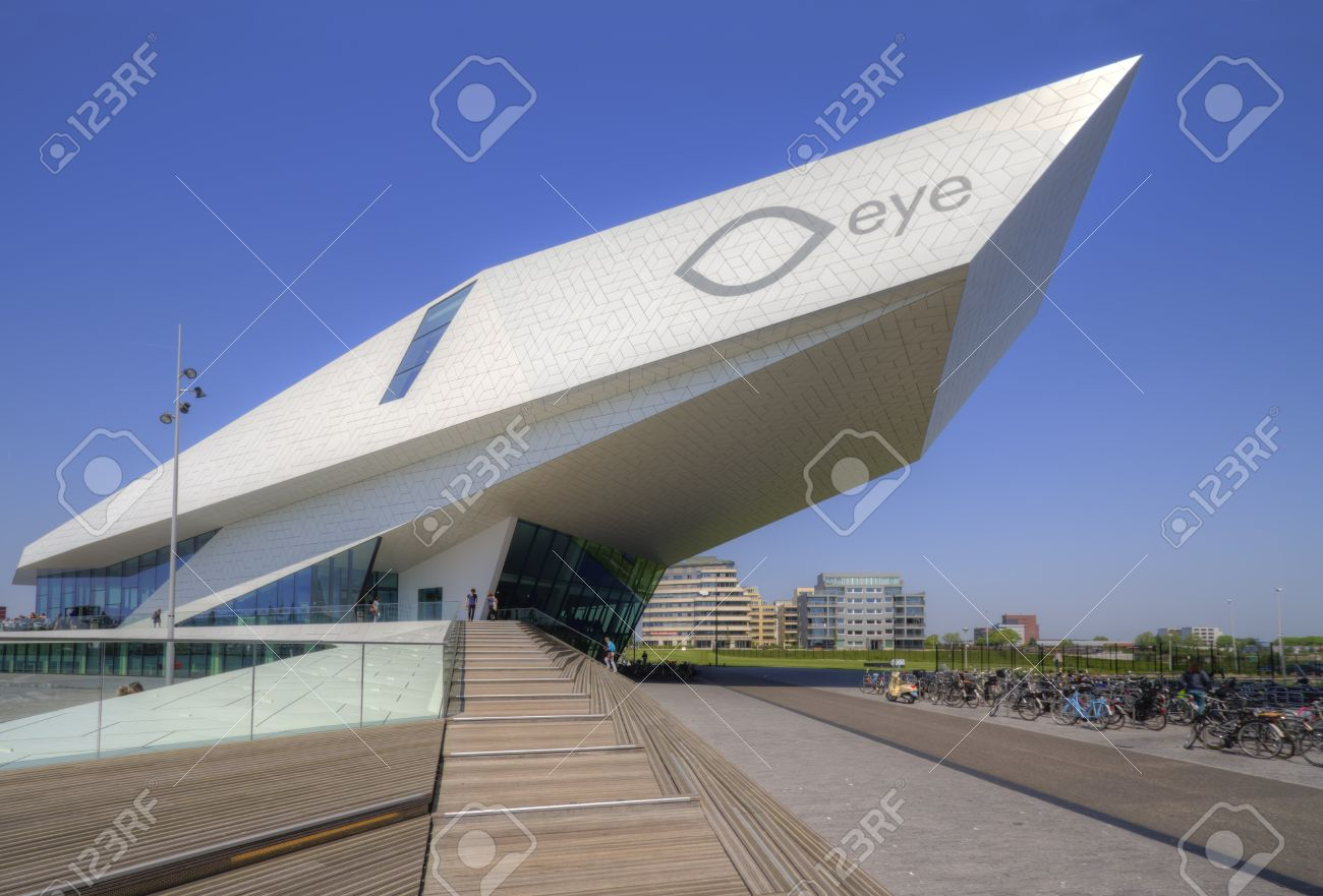 Modern Architecture Netherlands modern architecture of eye film institute in amsterdam, the