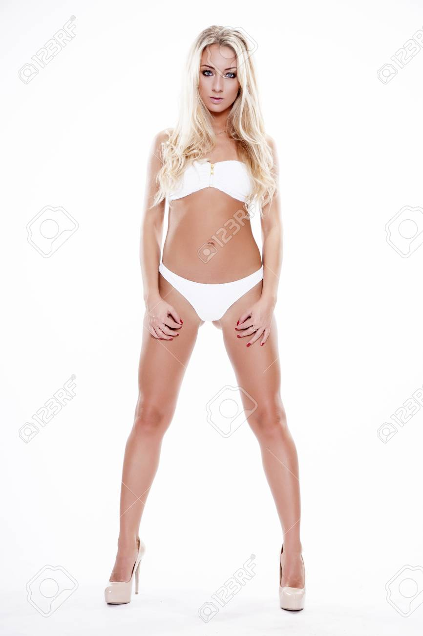 Sexy Skinny Blonde Teen
