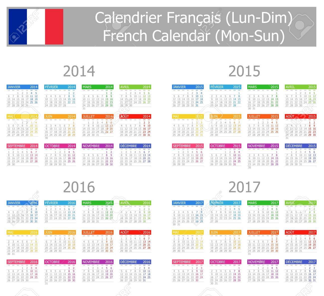 Calendario Frances.2014 2017 Tipo 1 Calendario Frances Lu Do