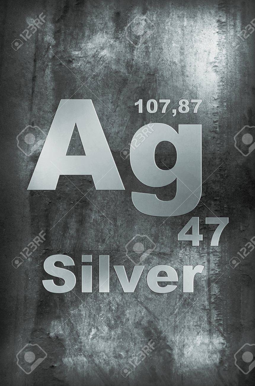 Silver periodic table symbol silver periodic table symbol silver argentum periodic gamestrikefo Image collections