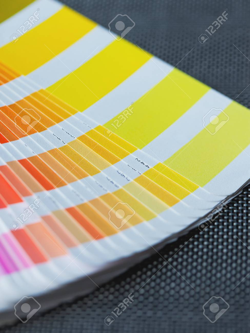 Color Swatch Book Detail. Stock Photo, Picture And Royalty Free ...