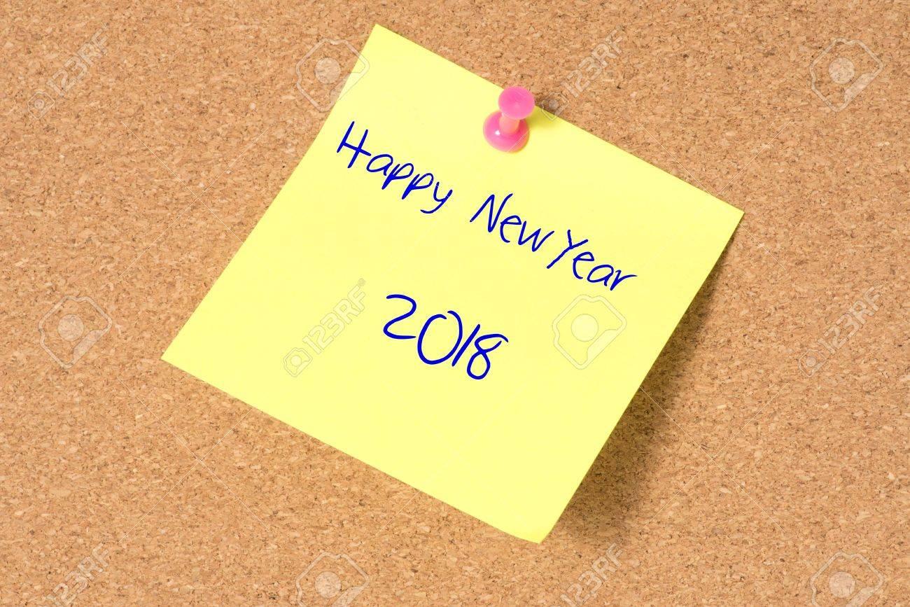 Grüße Für Das Neue Jahr 2018 Lizenzfreie Fotos, Bilder Und Stock ...