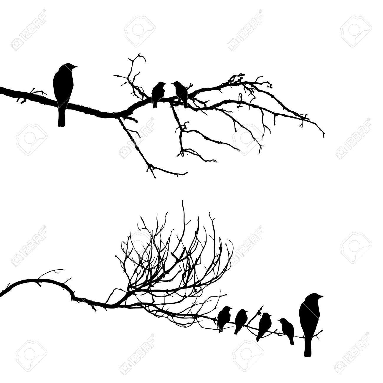 Тату ветки дерева эскизы
