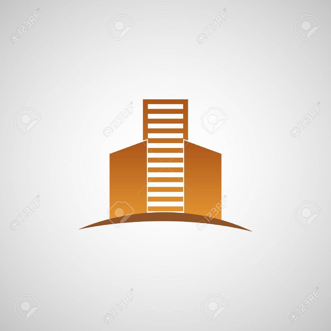 Real estate logo work Stock Vector - 17418141