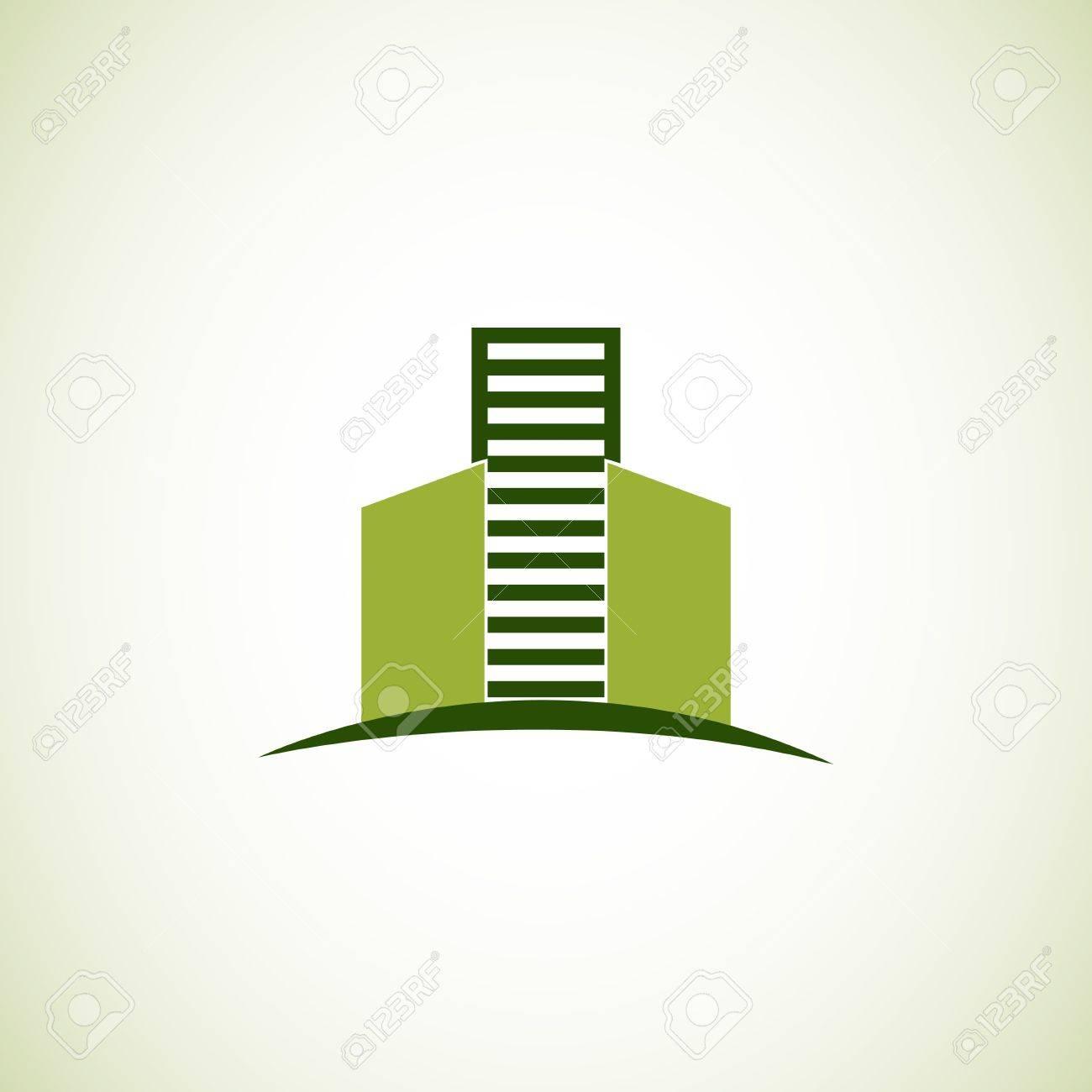 Real estate logo Stock Vector - 18775722