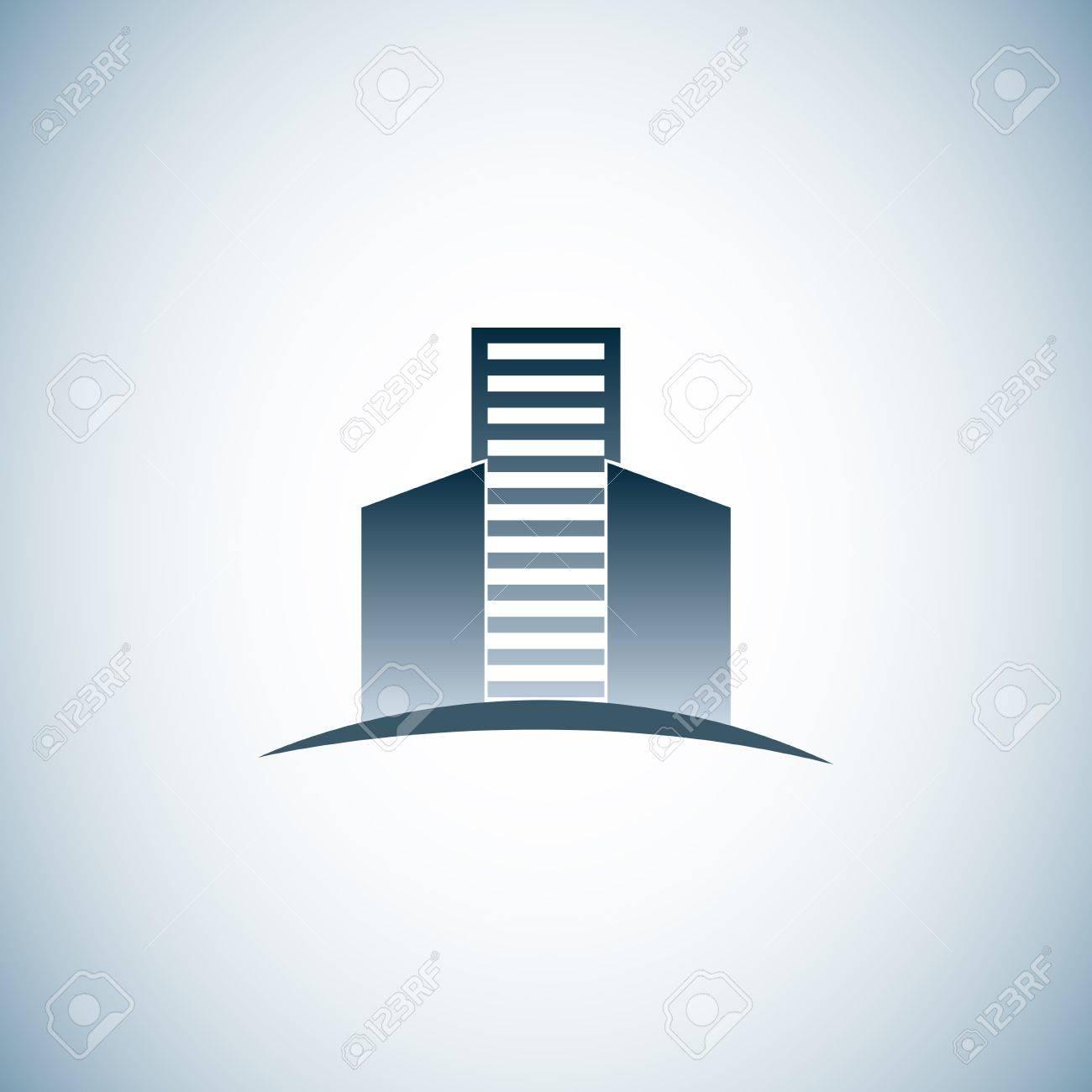 Real estate logo Stock Vector - 18775717