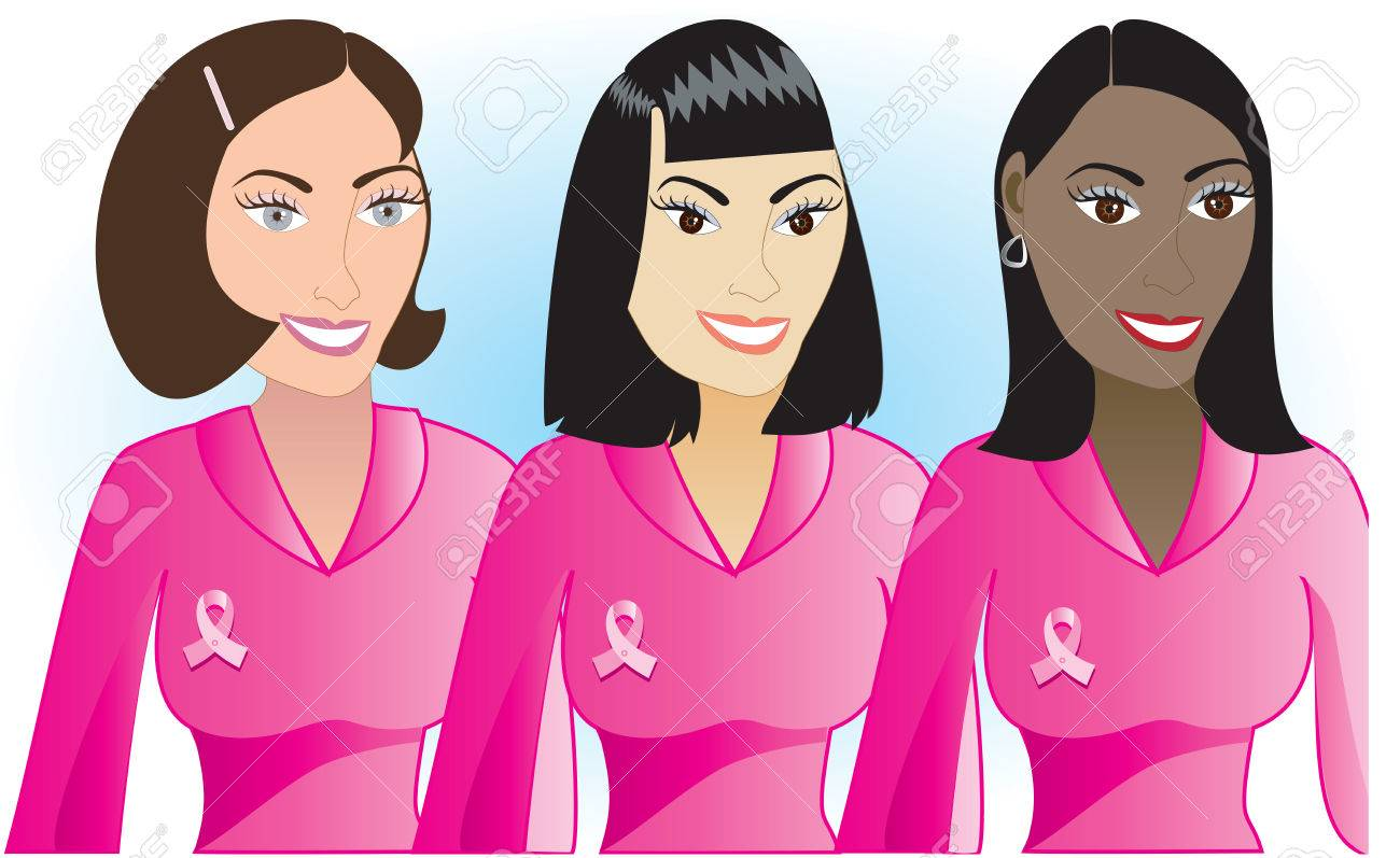 Illustration for Breast Cancer awareness month. Stock Vector - 5659402