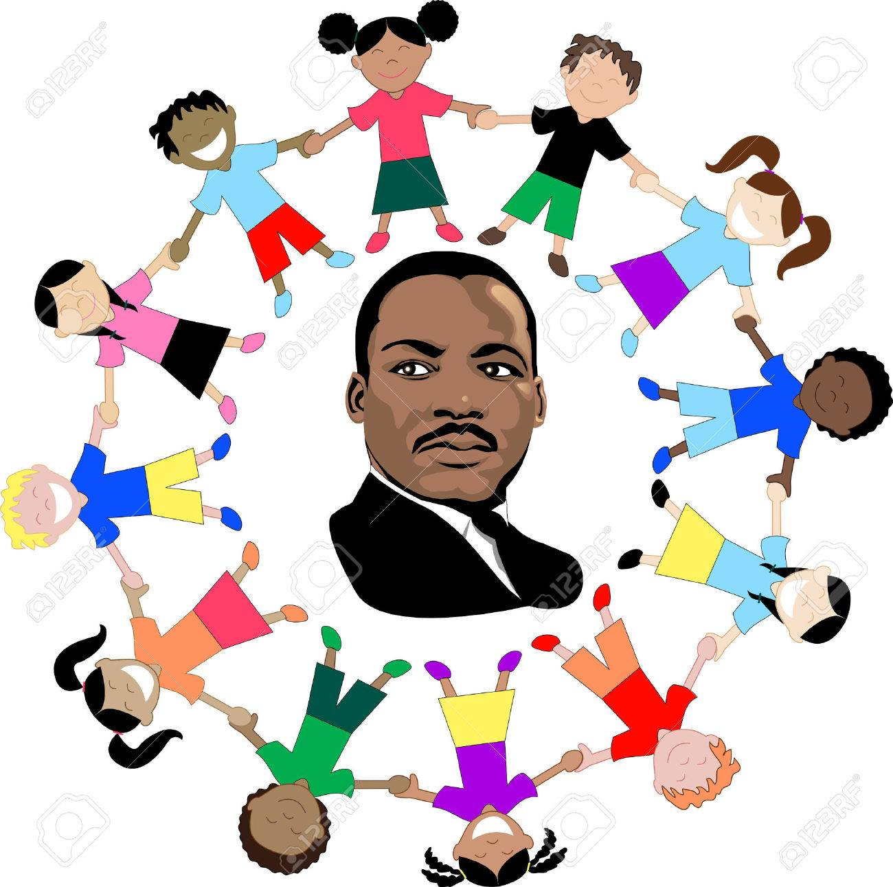 Hermosa Dibujos Para Martin Luther King Jr Colección - Enmarcado ...