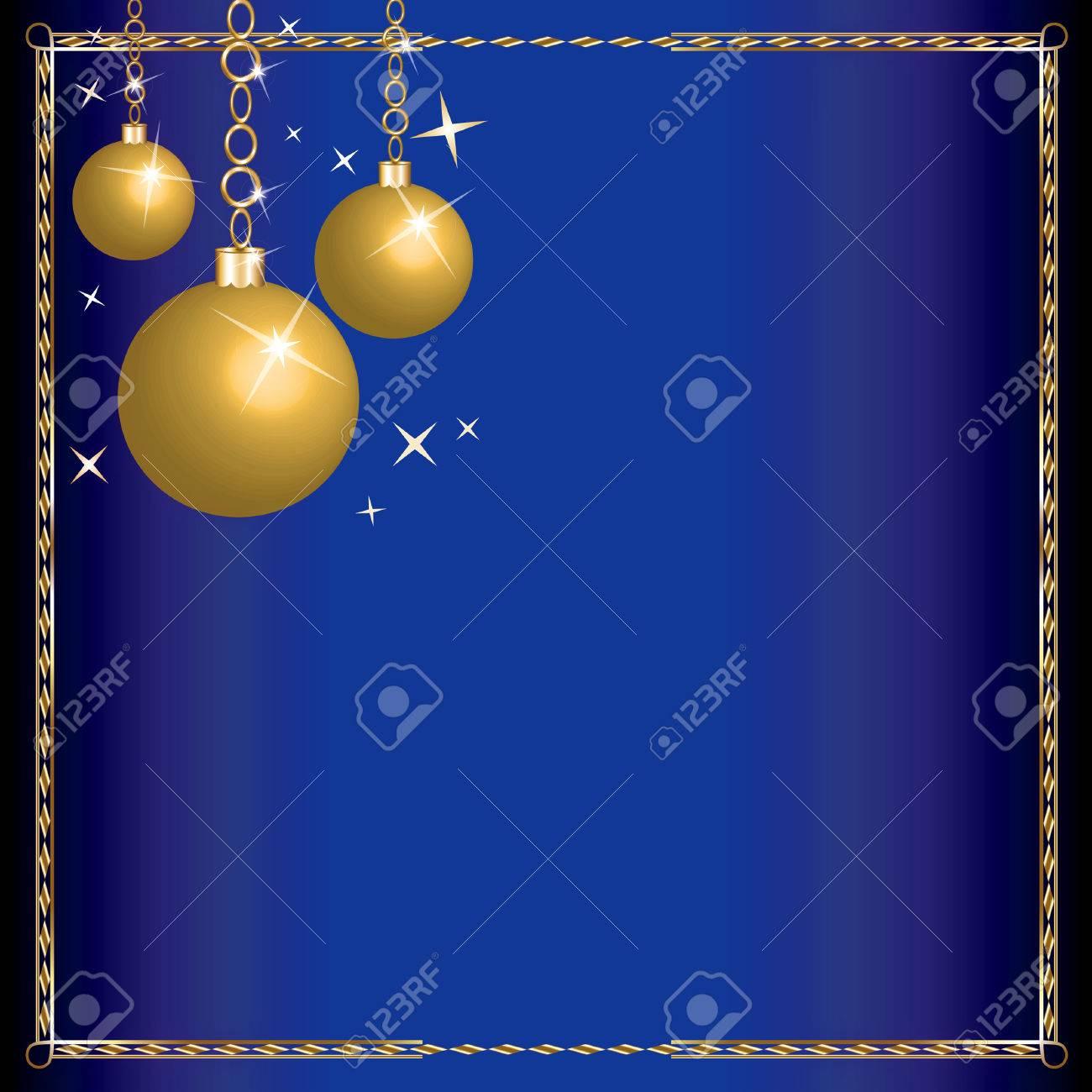 Merry Christmas Blue Wisemen. Stock Vector - 7976846
