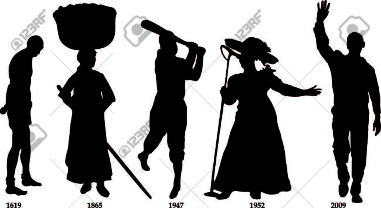 Vector Illustration timeline for Black History month. Stock Vector - 8581676