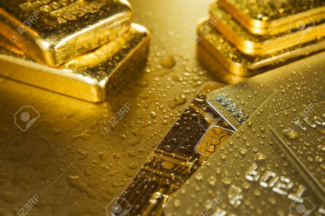 Fine Gold Ingots And Credit