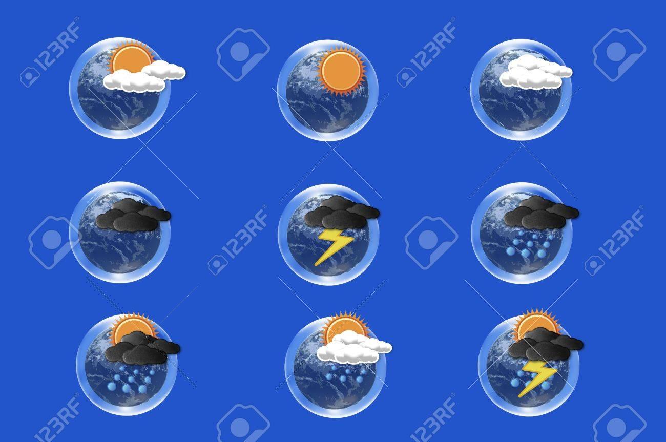 Weather forecast icon Stock Photo - 10473463