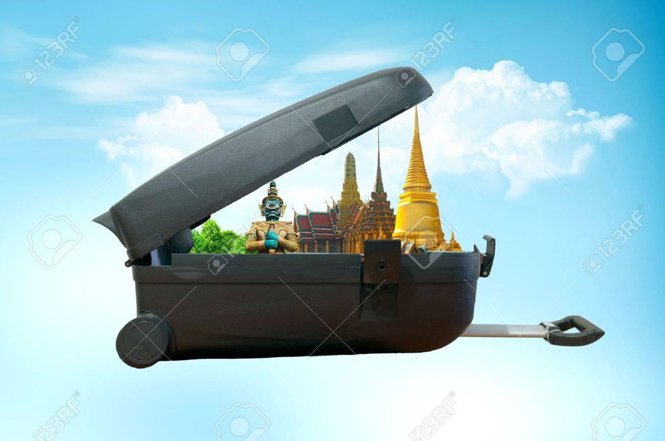Travel concept, bangkok THAILAND Stock Photo - 11071445