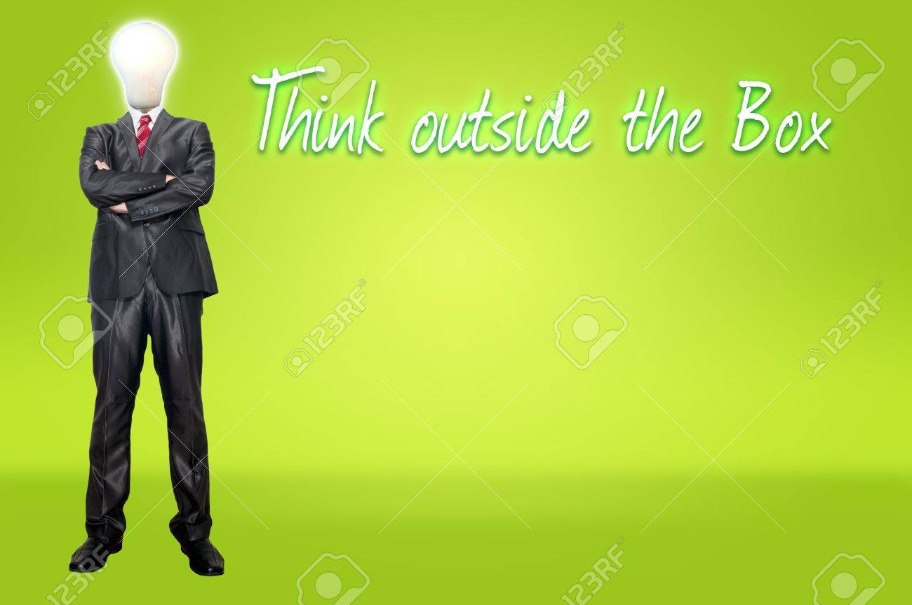 Business man think for concept idea Stock Photo - 12934652