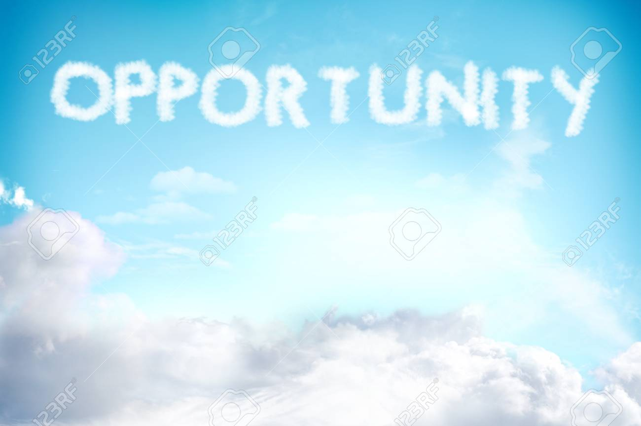 Cloud on the sky for new and opportunity concept Stock Photo - 13773971