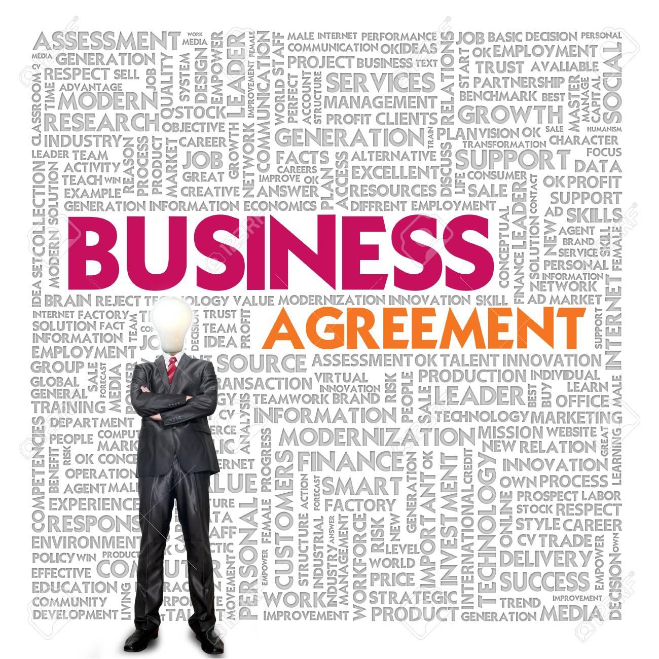 Business Word Cloud Für Geschäfts-und Finanz-Konzept, Business ...