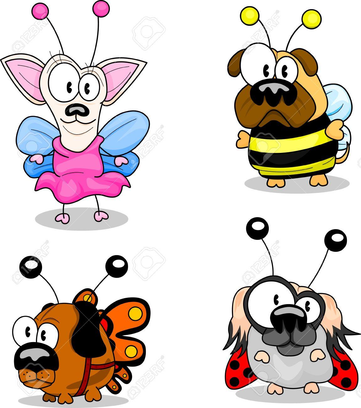 Cartoon dogs Stock Vector - 9497102