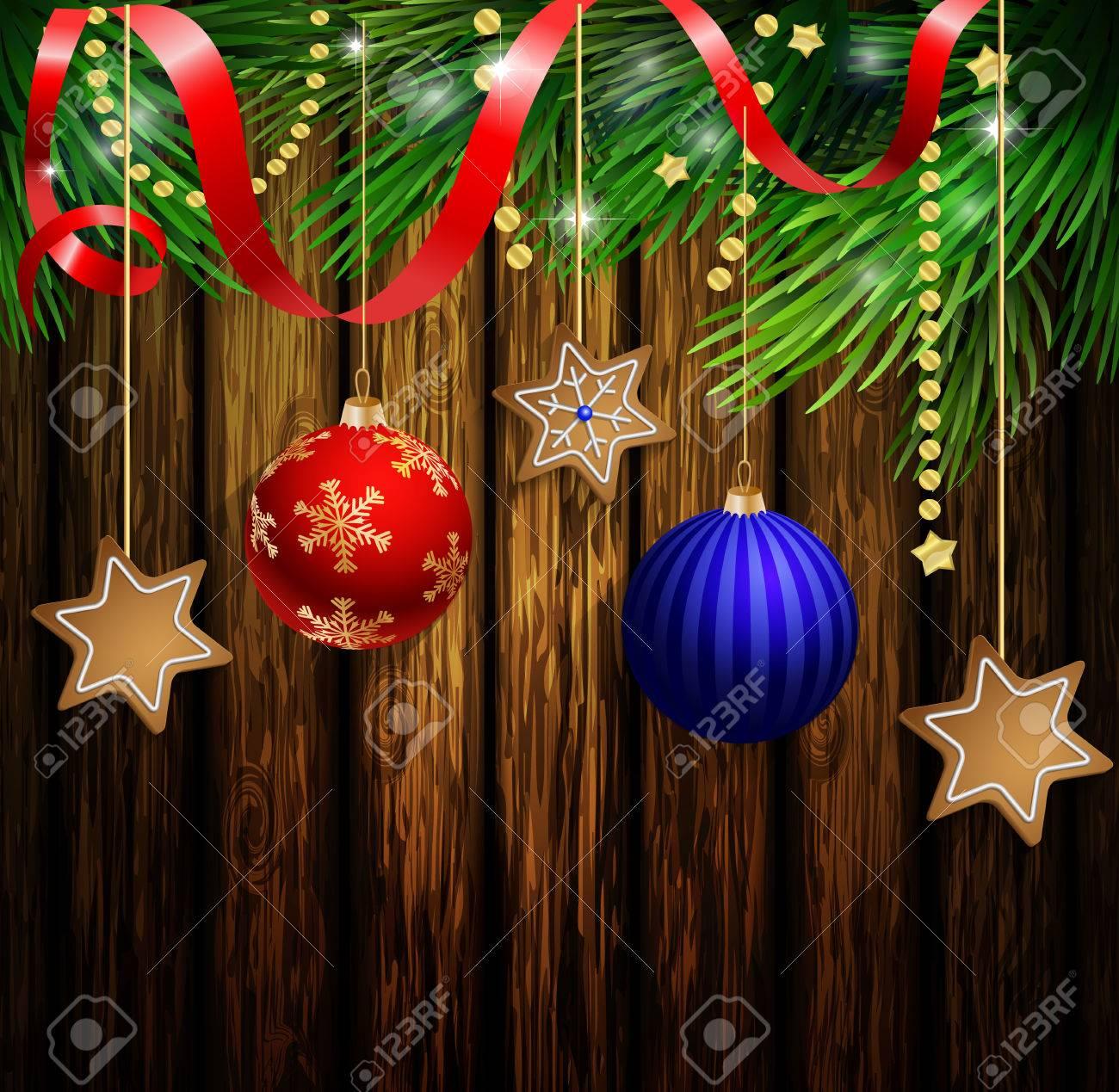 Weihnachtsbaum schleifen braun