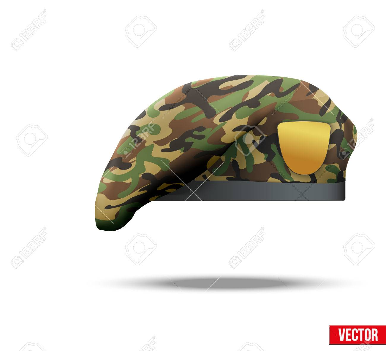 13383dc94e9 83 Revolutionary Beret Stock Vector Illustration And Royalty Free ...