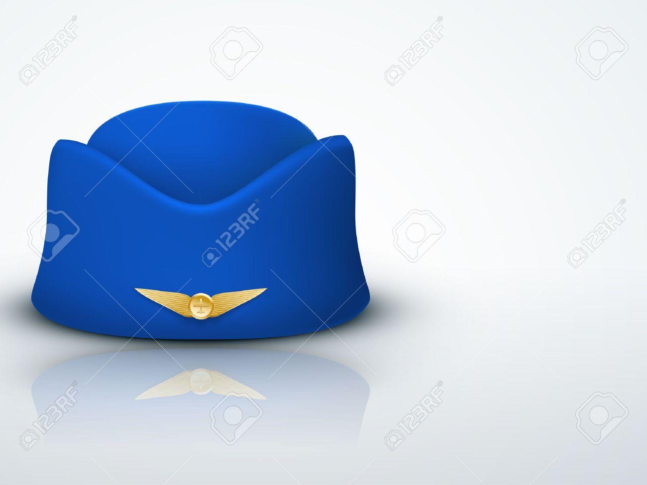 Contexte Hotesse Lumiere Chapeau De L Hotesse De L Air Uniforme