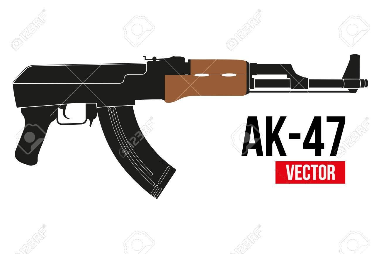ロシアの自動自動小銃 AK 47 フ...