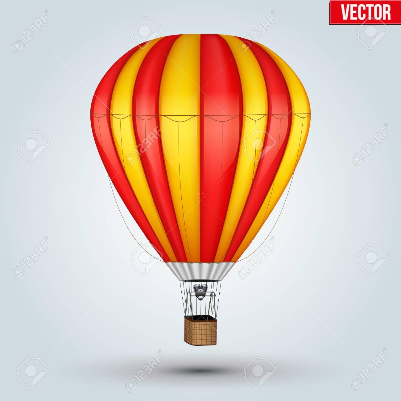 Montgolfière Dessin Realiste