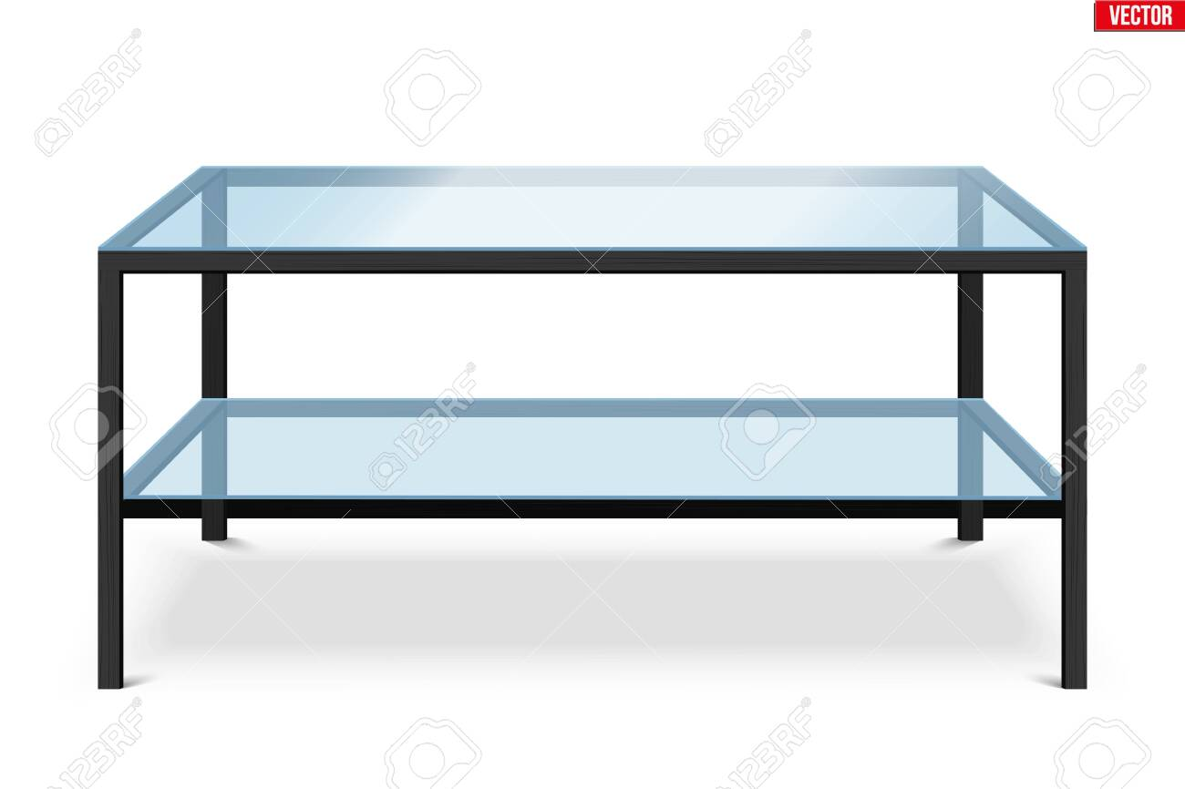 Glass Coffee Table With Wooden Stand Sample Furniture Home And