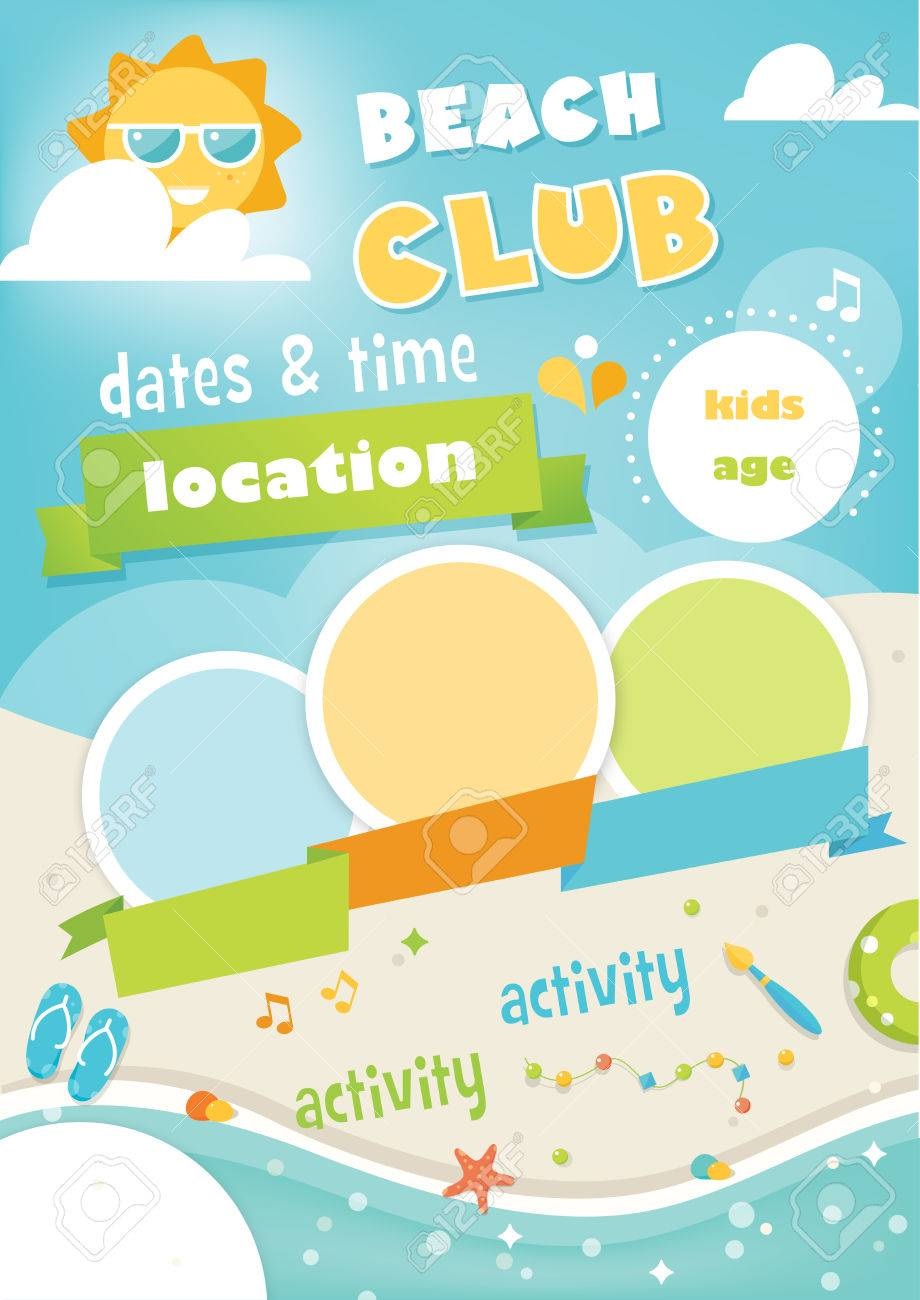 poster template for kids