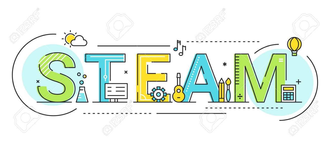 Steam Education Approach and Movement Concept Vector Illustration. - 111578366