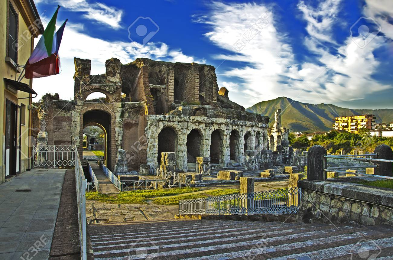 Anfiteatro Campano input Stock Photo - 15547011