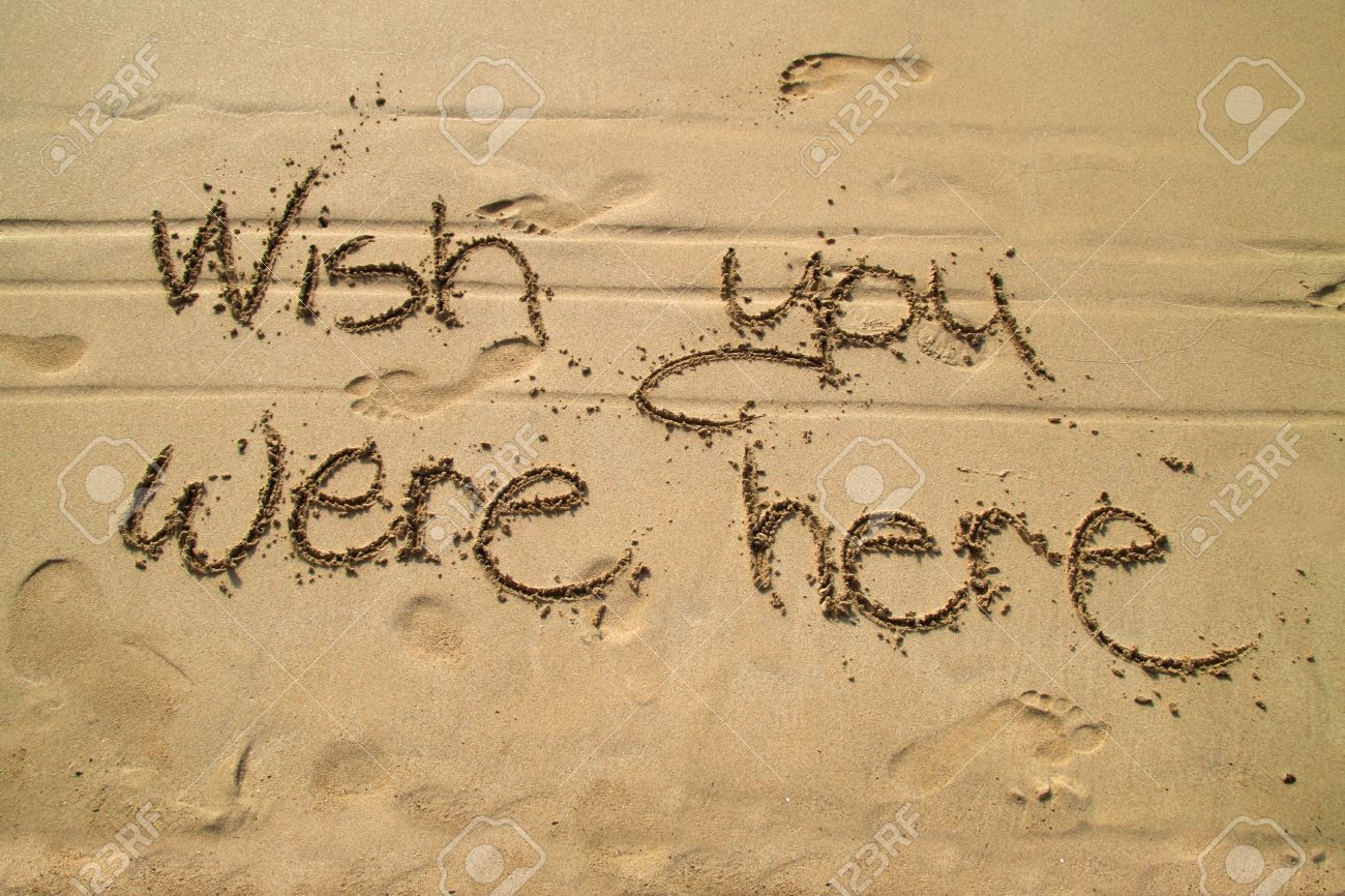 Wish you were here Stock Photo - 8881644