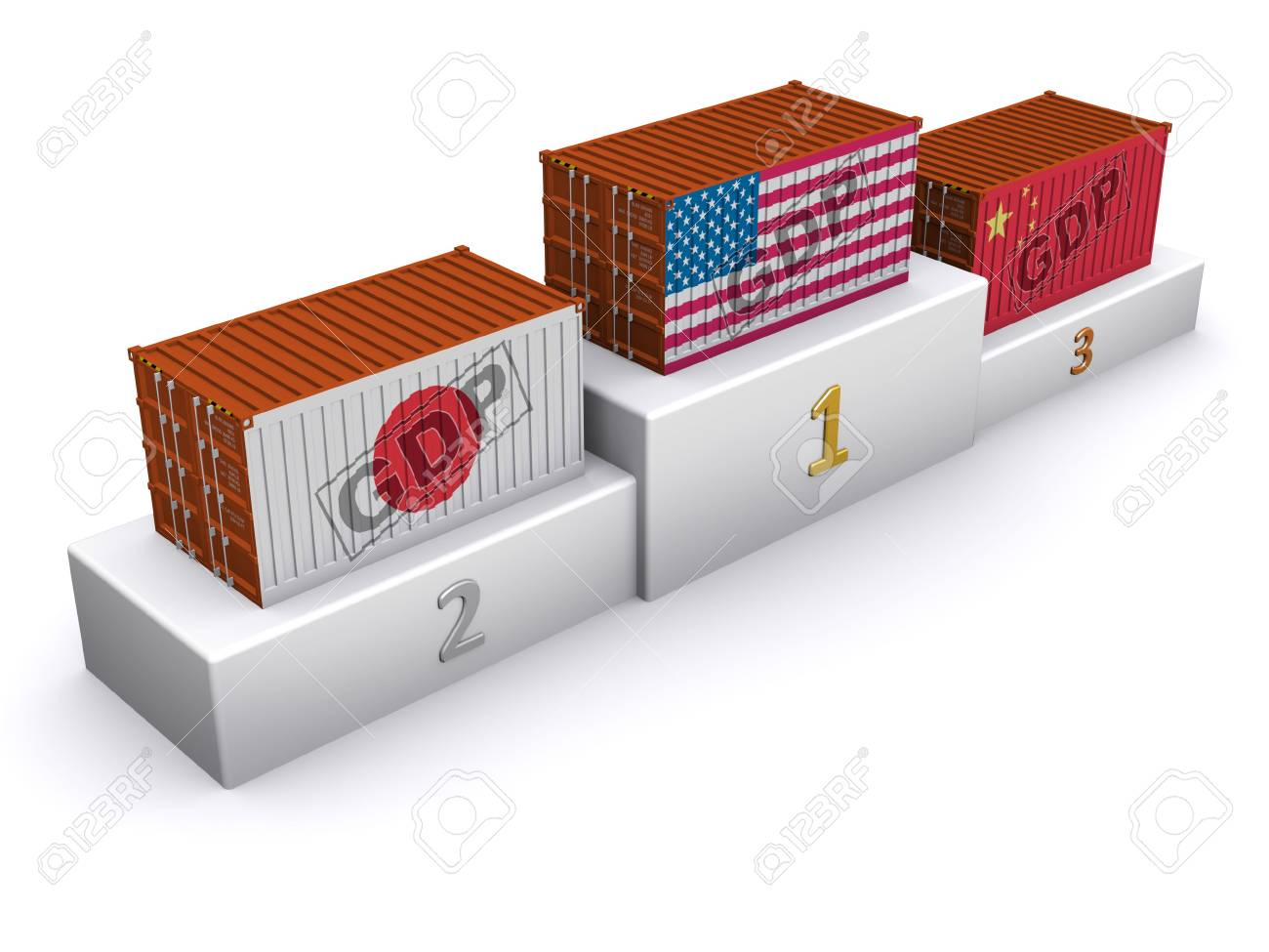 GDP rating Stock Photo - 6726679