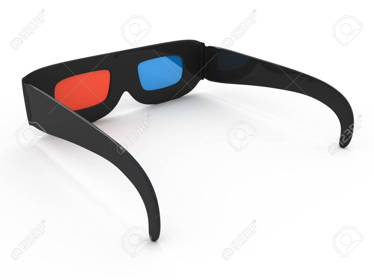 Glassess for 3d Stock Photo - 9456316