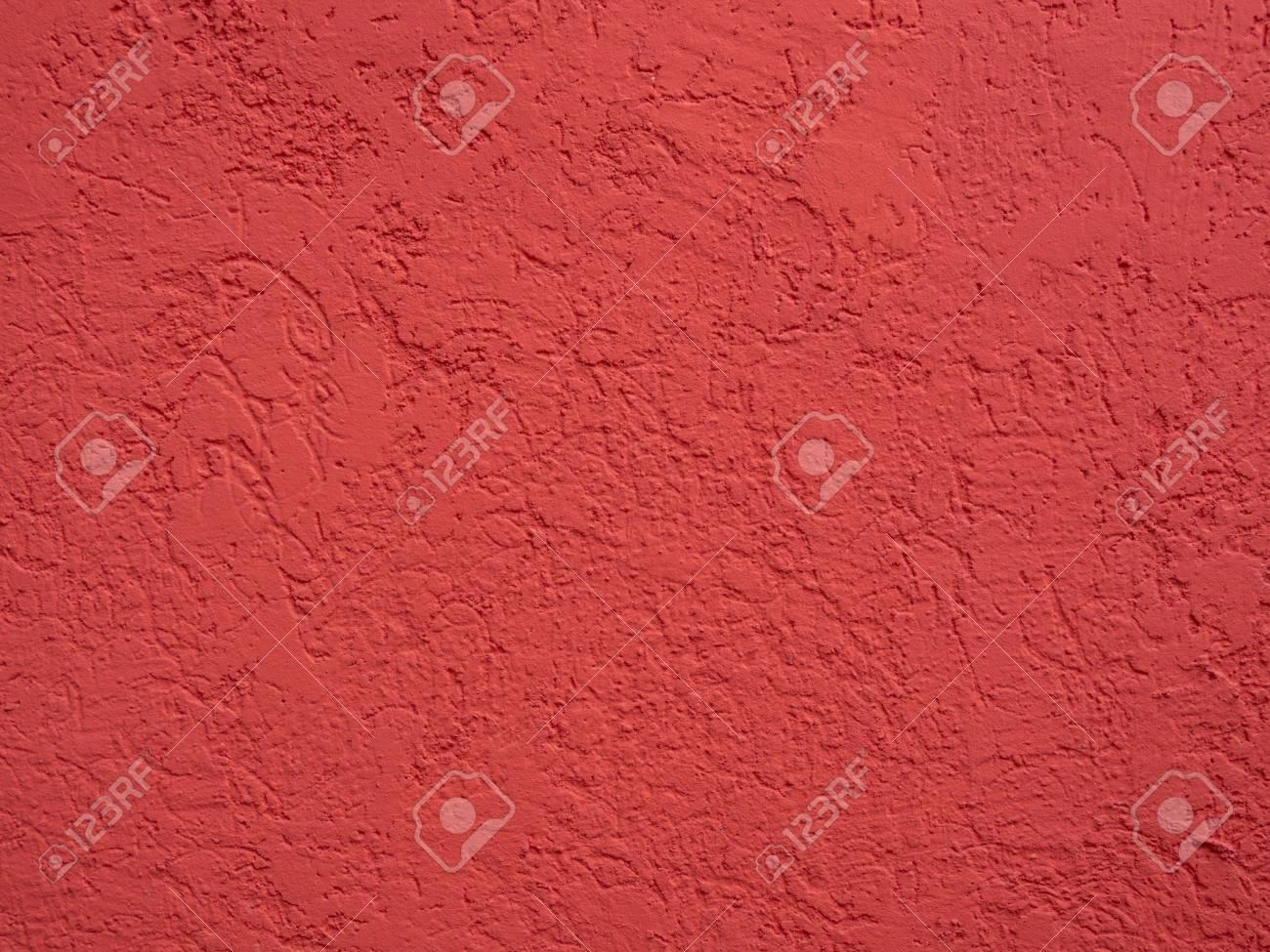 reinigen sie das verputzte oberfläche der wand rot lizenzfreie fotos
